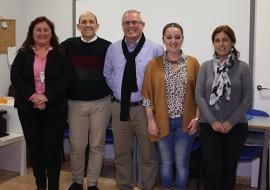 Maria Luisa Parra, Manuel Osorio, Rafael Piña, Gema Midón y Josefina Sabater