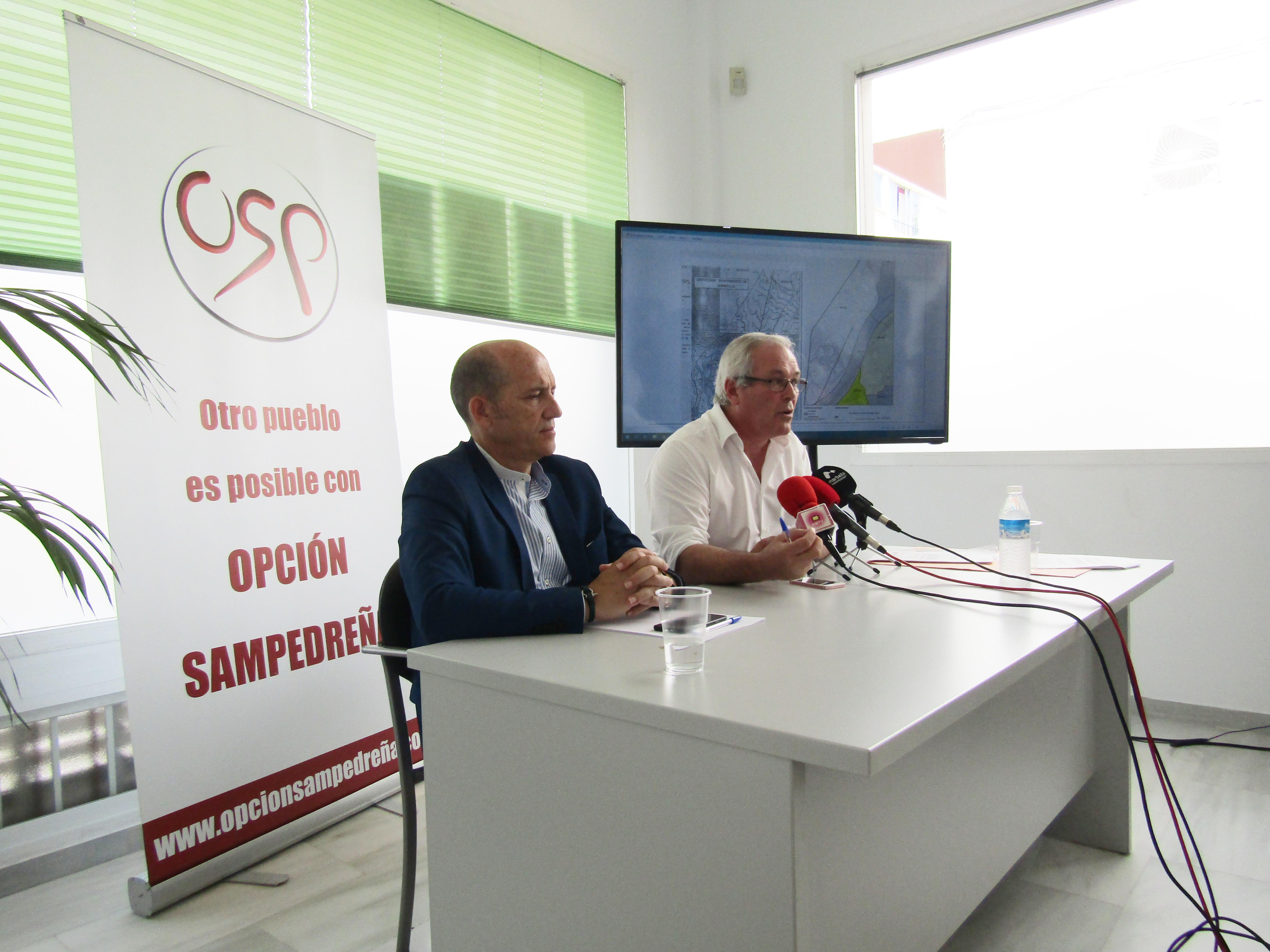 OSP apoya la adaptación a la LOUA para evitar el parón urbanístico y la alcaldesa se compromete a pedir a la Junta el cambio de lindes grafiadas en el PGOU