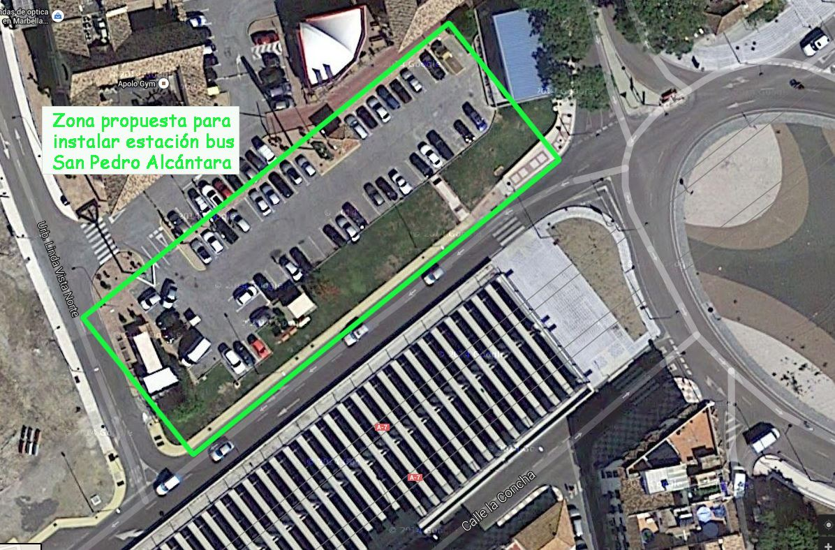 OSP propone una ubicación alternativa para la terminal de autobuses e insiste en la necesidad de buscar consenso
