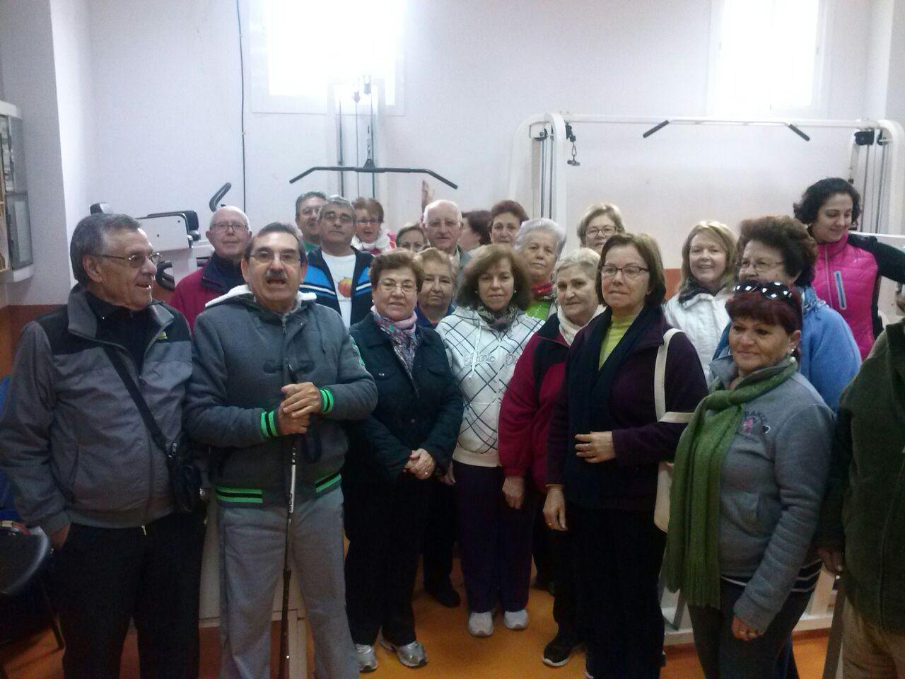 OSP acompaña a los usuarios del gimnasio municipal de San Pedro en sus reivindicaciones