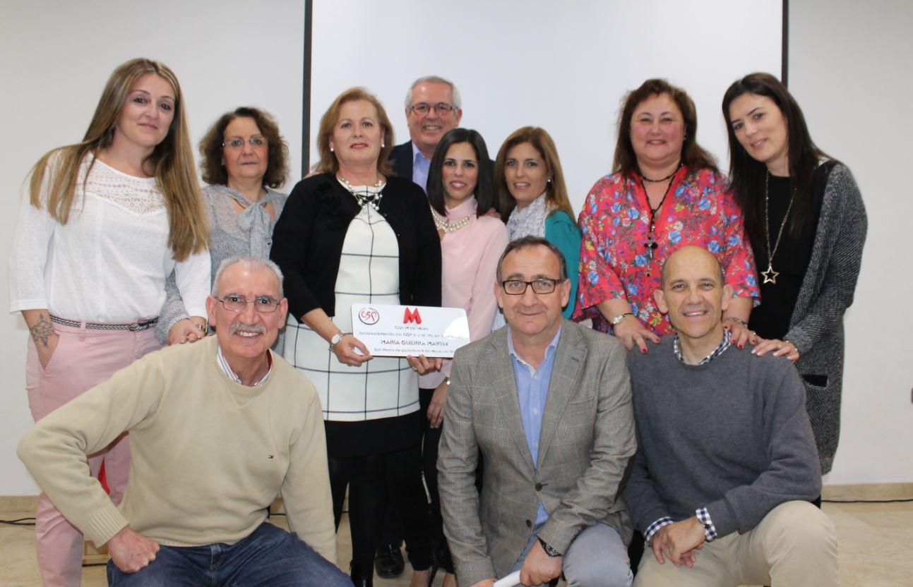 OSP celebra un acto homenaje con motivo del Día Internacional de la Mujer con gran acogida de público