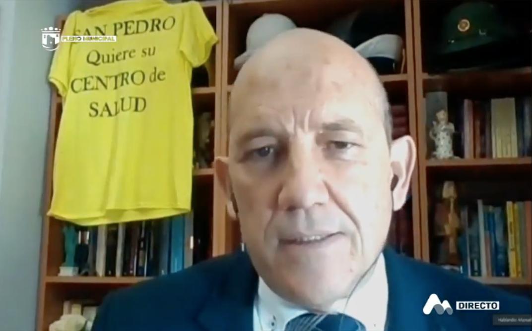OSP PREGUNTA POR LA ACTITUD DISCRIMINATORIA DE LA JUNTA HACIA SAN PEDRO EN MATERIA SANITARIA
