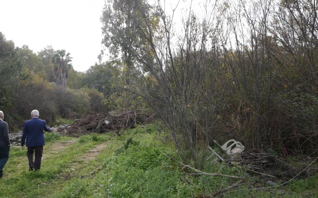 OSP lamenta la nefasta gestión del Equipo de Gobierno en la presunta limpieza del cauce del Río Guadaiza.
